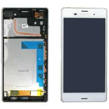Ansamblu Display LCD + Touchscreen Sony Xperia Z3 D6603 cu rama ORIGINAL. Ecran + Digitizer Sony Xperia Z3 D6603 cu rama ORIGINAL