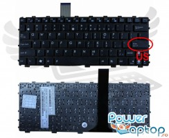 Tastatura Asus Eee PC 1011BX. Keyboard Asus Eee PC 1011BX. Tastaturi laptop Asus Eee PC 1011BX. Tastatura notebook Asus Eee PC 1011BX