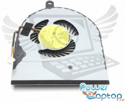 Cooler laptop Dell Inspiron 14 5458. Ventilator procesor Dell Inspiron 14 5458. Sistem racire laptop Dell Inspiron 14 5458