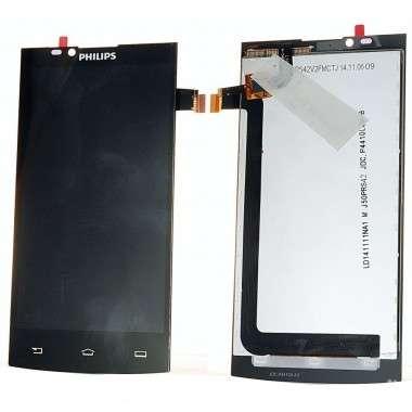 Ansamblu Display LCD  + Touchscreen Philips S398. Modul Ecran + Digitizer Philips S398