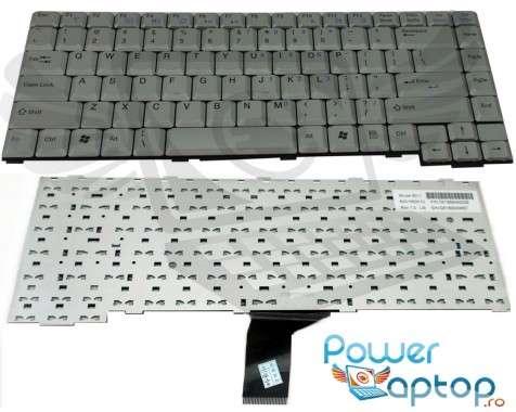 Tastatura Fujitsu Siemens  L7310GW argintie. Keyboard Fujitsu Siemens  L7310GW argintie. Tastaturi laptop Fujitsu Siemens  L7310GW argintie. Tastatura notebook Fujitsu Siemens  L7310GW argintie