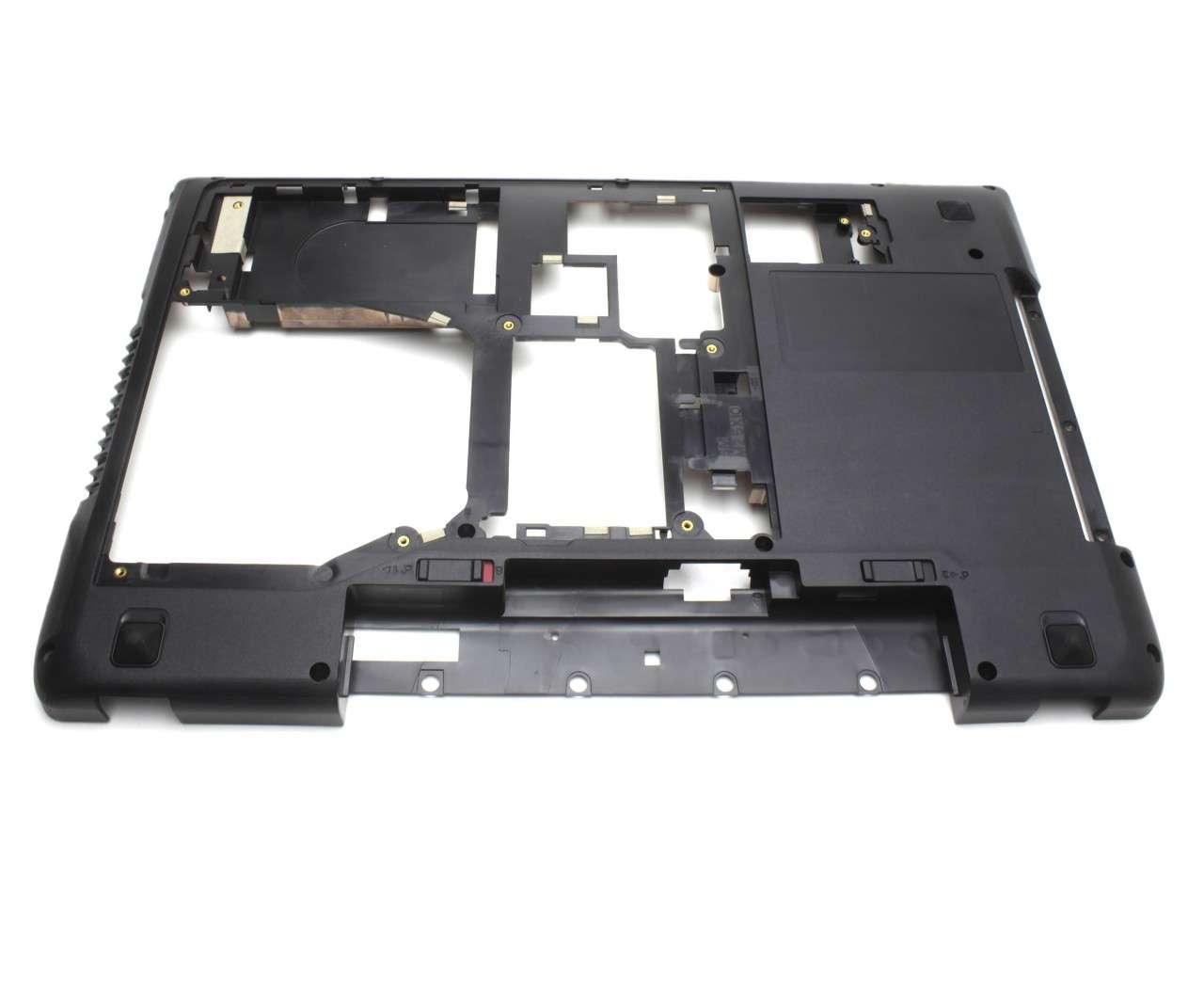Bottom Case IBM Lenovo Y570D Carcasa Inferioara Neagra imagine powerlaptop.ro 2021