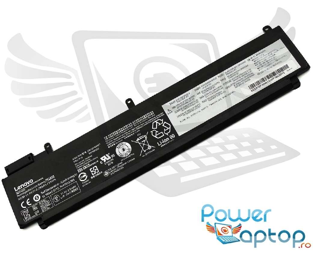 Baterie Lenovo SB10F46461 Originala imagine powerlaptop.ro 2021