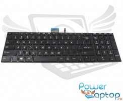 Tastatura Toshiba Satellite S50DT-A iluminata backlit. Keyboard Toshiba Satellite S50DT-A iluminata backlit. Tastaturi laptop Toshiba Satellite S50DT-A iluminata backlit. Tastatura notebook Toshiba Satellite S50DT-A iluminata backlit