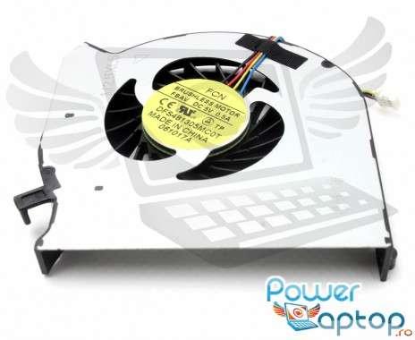 Cooler laptop HP  DFS481305MC0T. Ventilator procesor HP  DFS481305MC0T. Sistem racire laptop HP  DFS481305MC0T