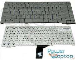 Tastatura Fujitsu Siemens  L1300 argintie. Keyboard Fujitsu Siemens  L1300 argintie. Tastaturi laptop Fujitsu Siemens  L1300 argintie. Tastatura notebook Fujitsu Siemens  L1300 argintie