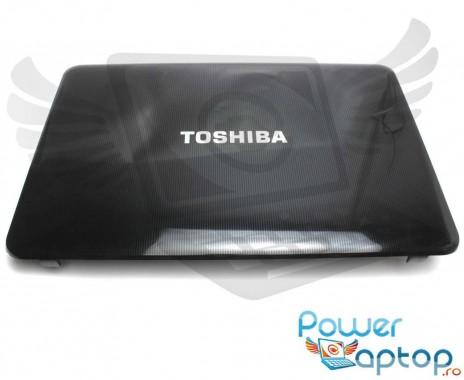 Carcasa Display Toshiba Satellite C855. Cover Display Toshiba Satellite C855. Capac Display Toshiba Satellite C855 Neagra