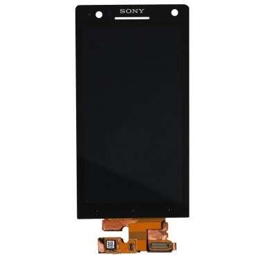 Ansamblu Display LCD + Touchscreen Sony Xperia S LT26i ORIGINAL. Ecran + Digitizer Sony Xperia S LT26i ORIGINAL