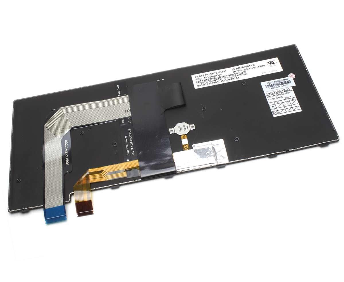 Tastatura Lenovo T470P iluminata backlit imagine powerlaptop.ro 2021