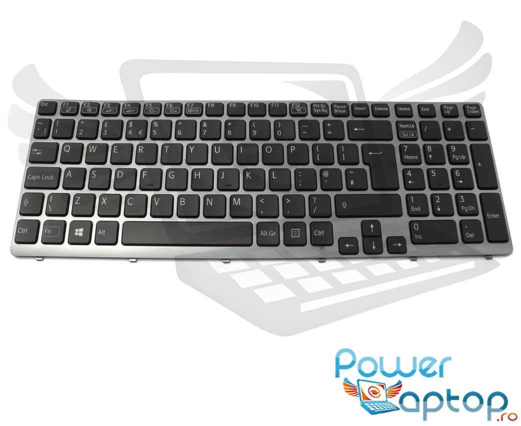 Tastatura Sony Vaio SVE1511AJ iluminata backlit imagine powerlaptop.ro 2021