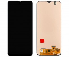 Ansamblu Display LCD + Touchscreen Samsung Galaxy A20 A205 Original Black Negru . Ecran + Digitizer Samsung Galaxy A20 A205 Original Negru Black