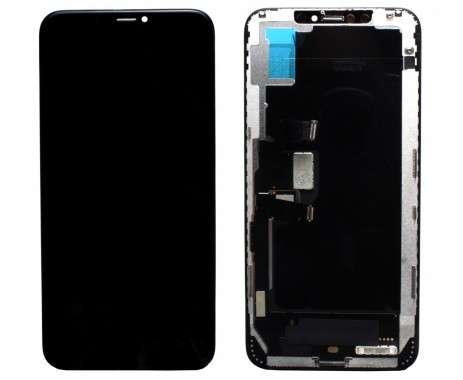 Ansamblu LCD Display Touchscreen Apple iPhone Xs Max Display TFT Negru Black . Ecran + Digitizer Apple iPhone Xs Max Display TFT