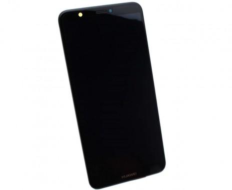 Ansamblu Display LCD + Touchscreen Original Service Pack HUAWEI P SMART 2018 Black Negru. Ecran + Digitizer Original Service Pack HUAWEI P SMART 2018 Black Negru