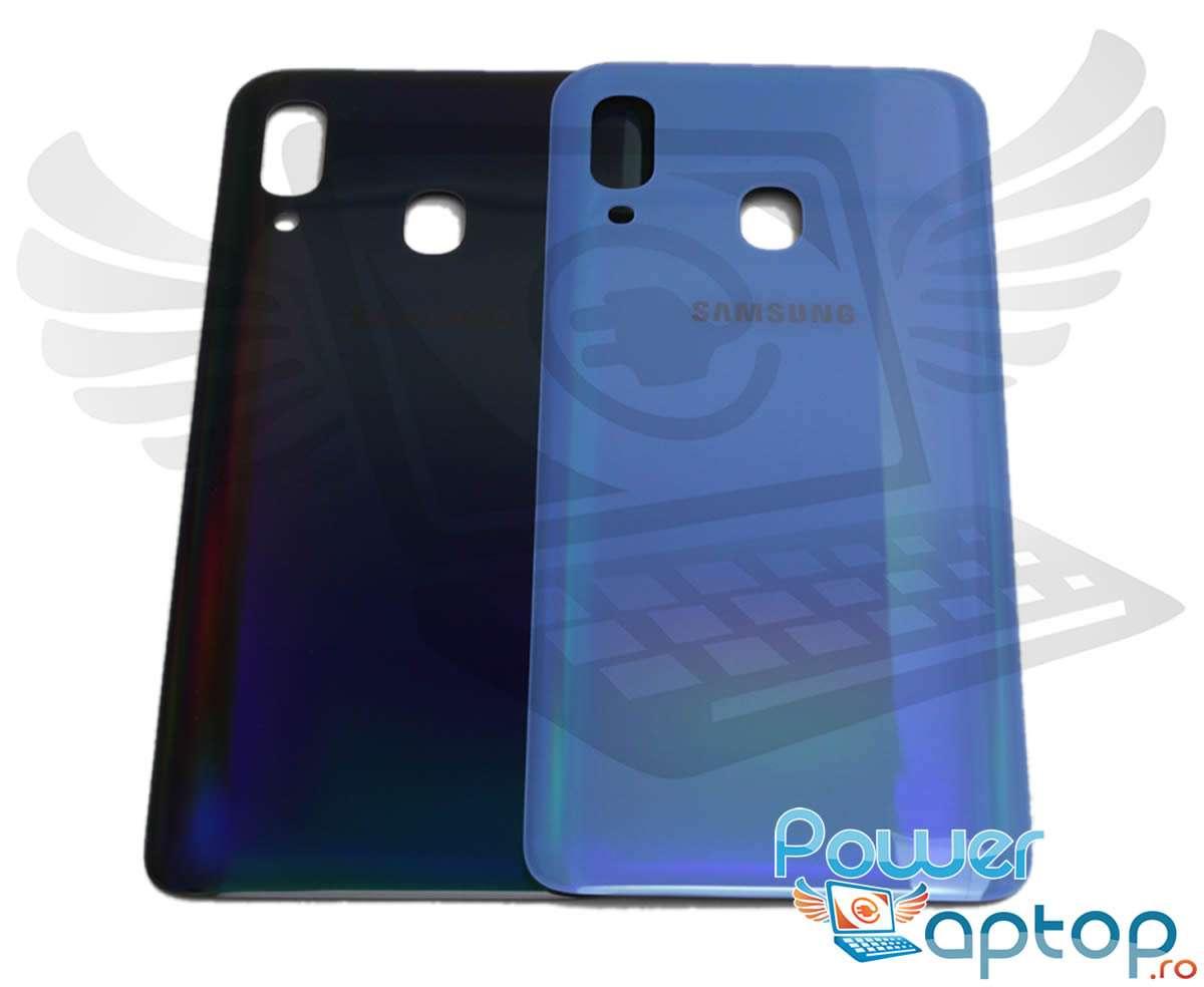 Capac Baterie Samsung Galaxy A40 A405 Albastru Blue Capac Spate imagine 2021