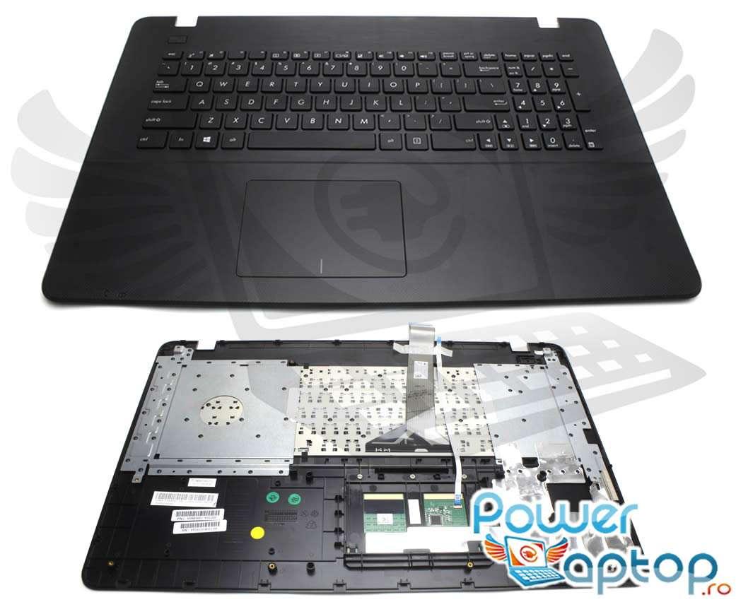 Tastatura Asus 90NB08E1 E31US0 neagra cu Palmrest negru imagine