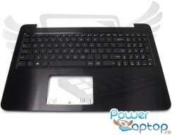Tastatura Asus  R512MAV cu Palmrest maro. Keyboard Asus  R512MAV cu Palmrest maro. Tastaturi laptop Asus  R512MAV cu Palmrest maro. Tastatura notebook Asus  R512MAV cu Palmrest maro