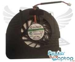 Cooler laptop Acer Aspire 5738P. Ventilator procesor Acer Aspire 5738P. Sistem racire laptop Acer Aspire 5738P