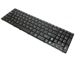 Tastatura Asus  K52JC. Keyboard Asus  K52JC. Tastaturi laptop Asus  K52JC. Tastatura notebook Asus  K52JC