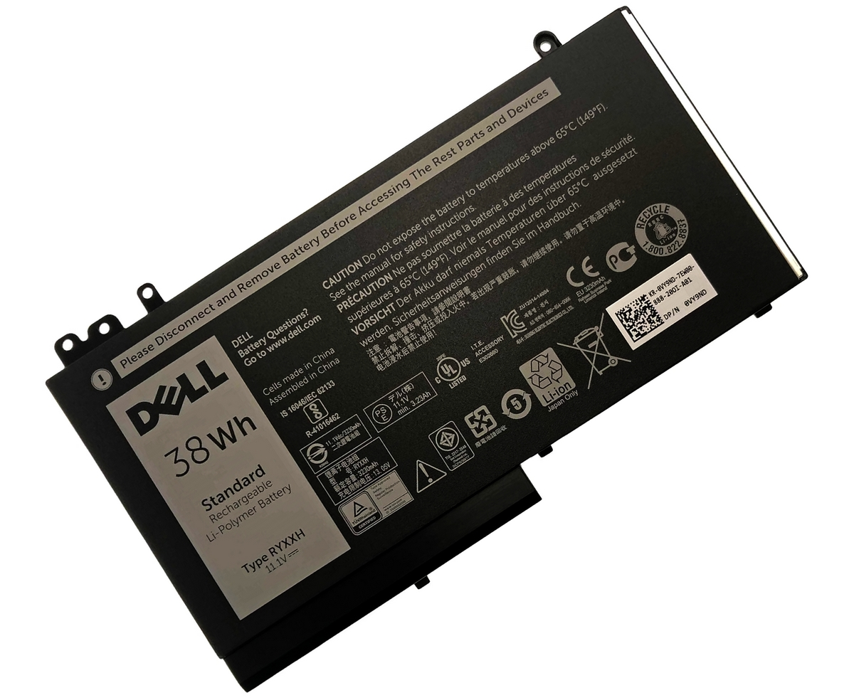 Baterie Dell VY9ND Originala 38Wh imagine powerlaptop.ro 2021
