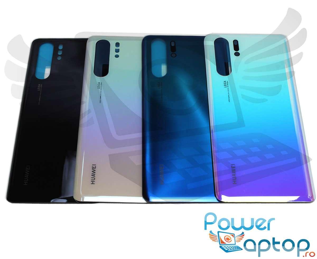 Capac Baterie Huawei P30 Pro Negru Black Capac Spate imagine powerlaptop.ro 2021
