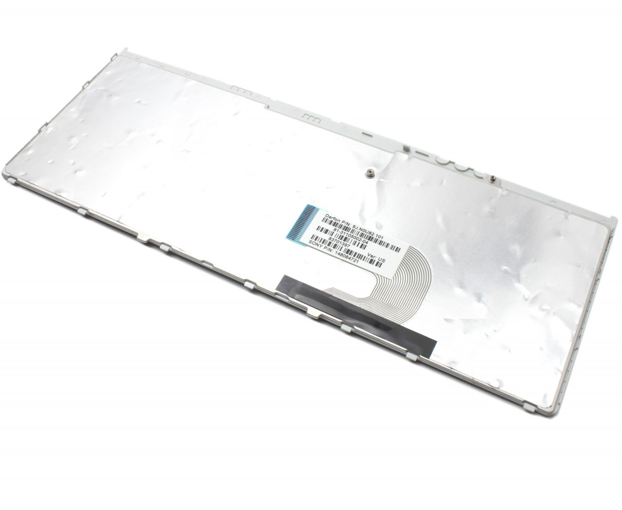 Tastatura Sony Vaio VGN-FW41M/H neagra cu rama gri imagine powerlaptop.ro 2021