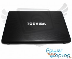 Carcasa Display Toshiba Satellite C655. Cover Display Toshiba Satellite C655. Capac Display Toshiba Satellite C655 Neagra