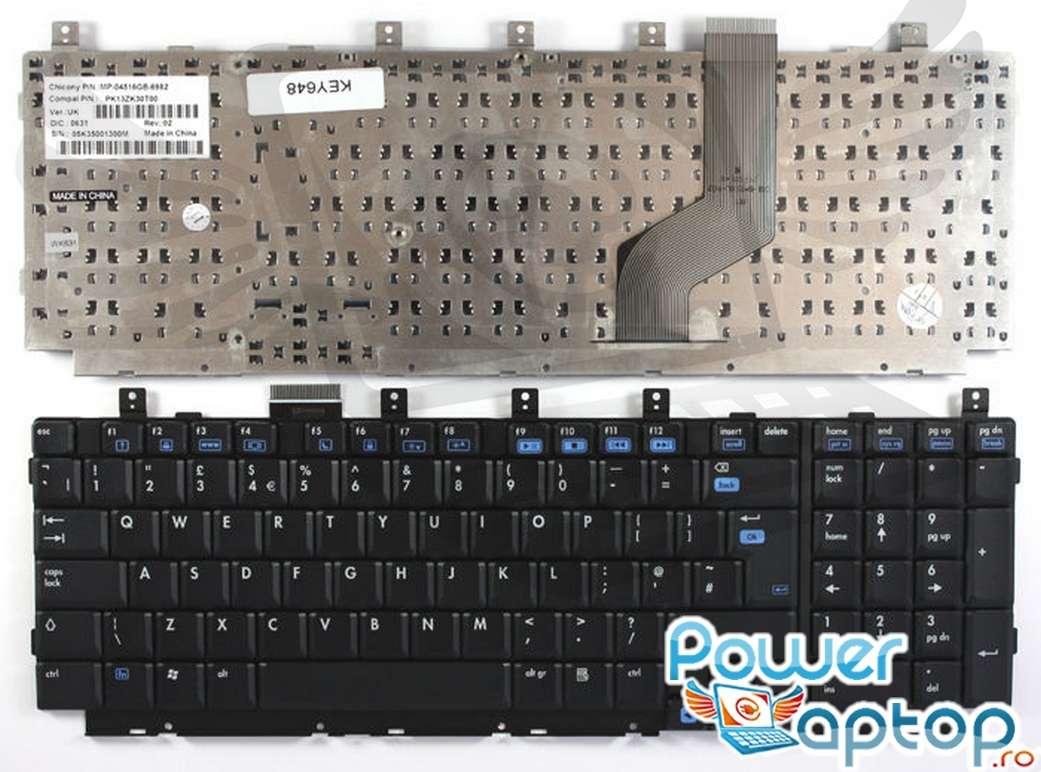 Tastatura HP Pavilion DV8135 imagine powerlaptop.ro 2021