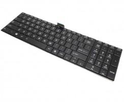Tastatura Toshiba Satellite C50-A-100 Neagra. Keyboard Toshiba Satellite C50-A-100 Neagra. Tastaturi laptop Toshiba Satellite C50-A-100 Neagra. Tastatura notebook Toshiba Satellite C50-A-100 Neagra