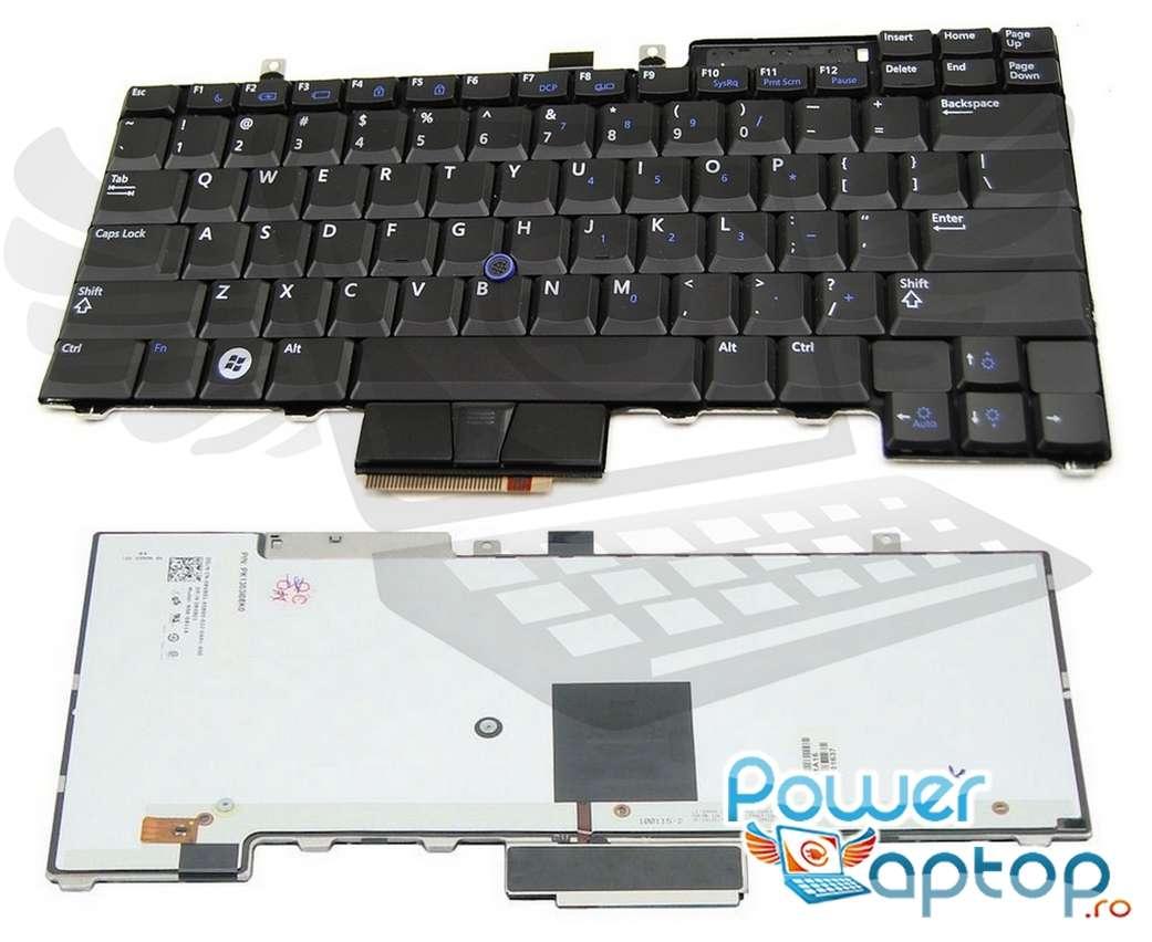 Tastatura Dell P05F iluminata backlit imagine powerlaptop.ro 2021