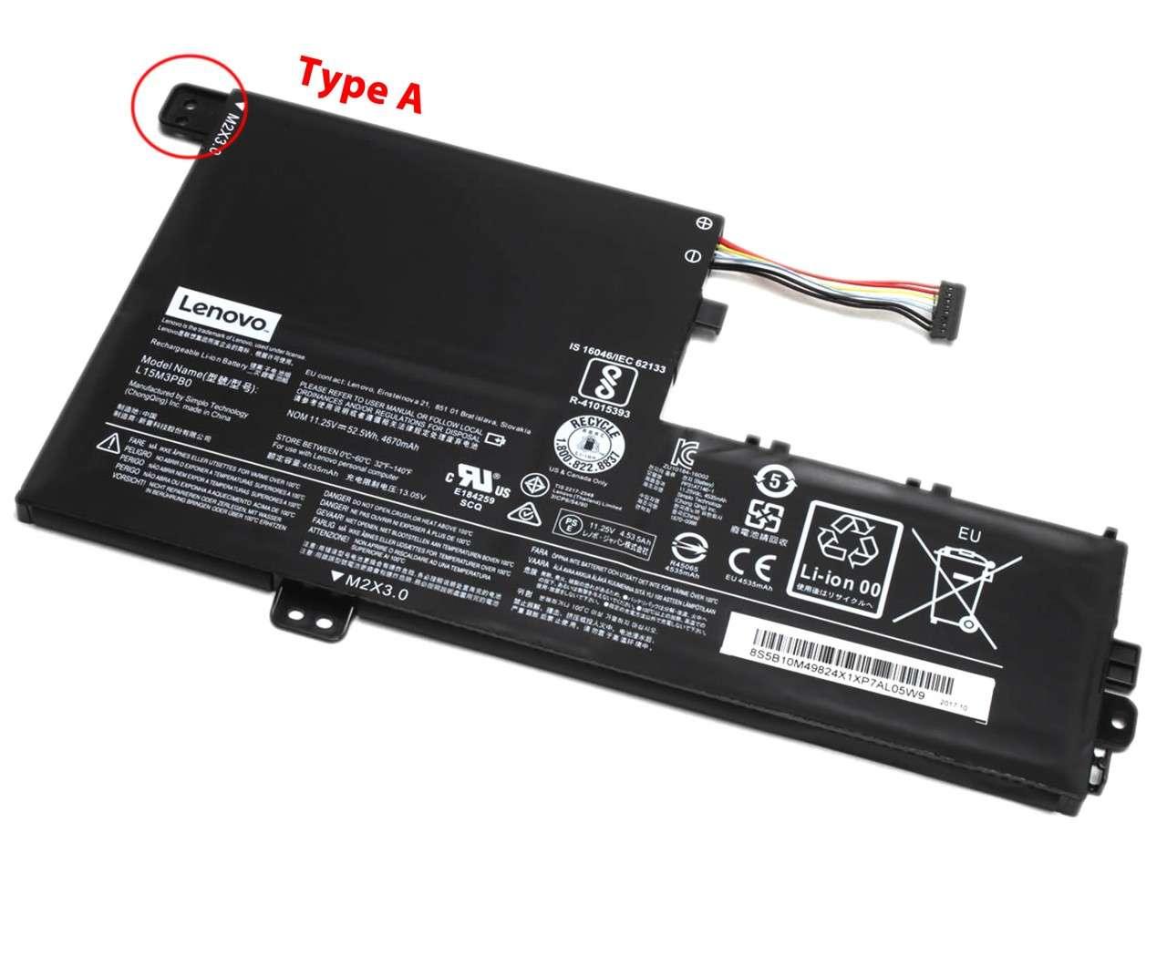 Baterie Lenovo Yoga 520 14IKB Originala 52.5Wh Type A imagine powerlaptop.ro 2021