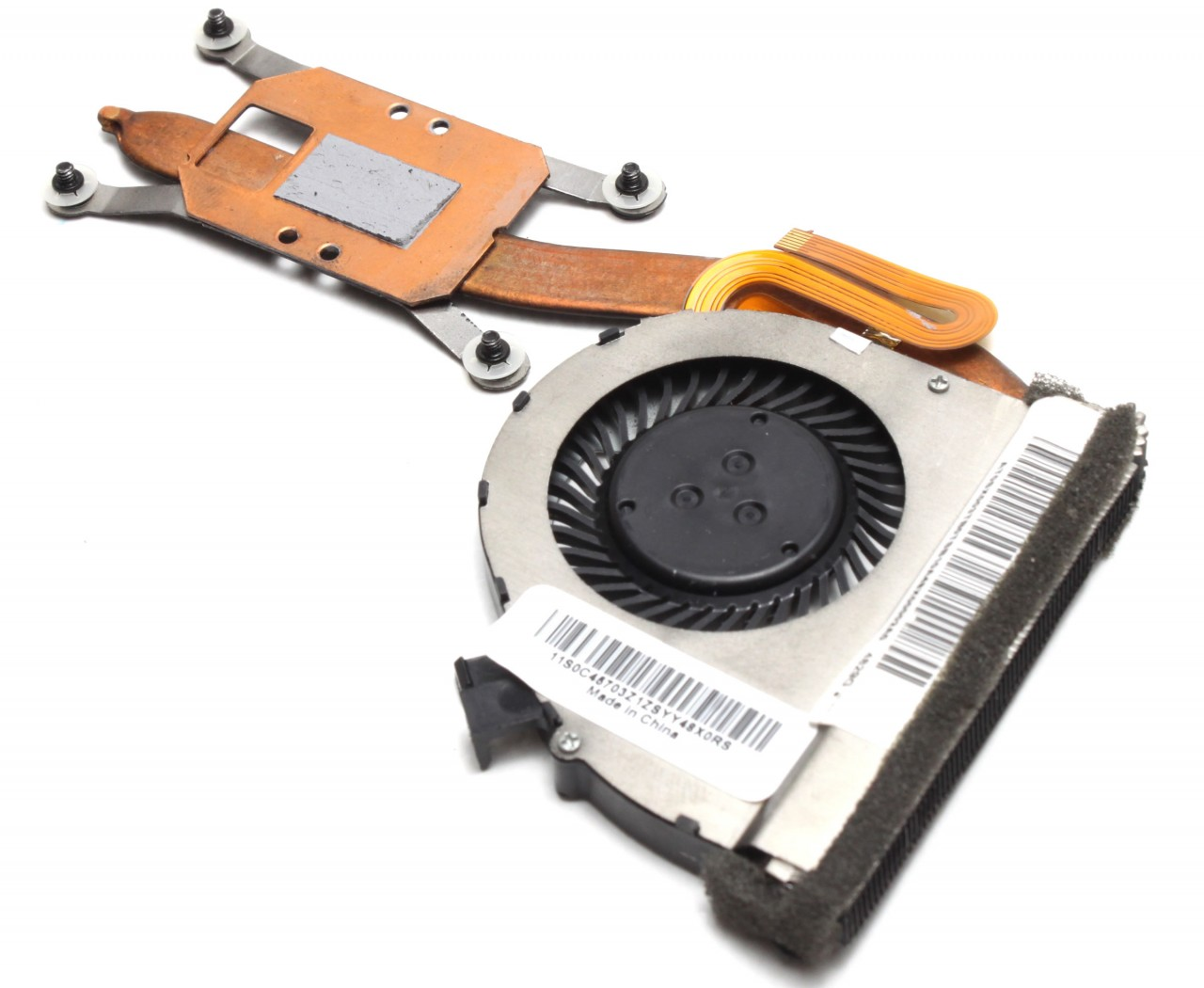 Cooler laptop Lenovo 0C45703 cu heatpipe imagine powerlaptop.ro 2021