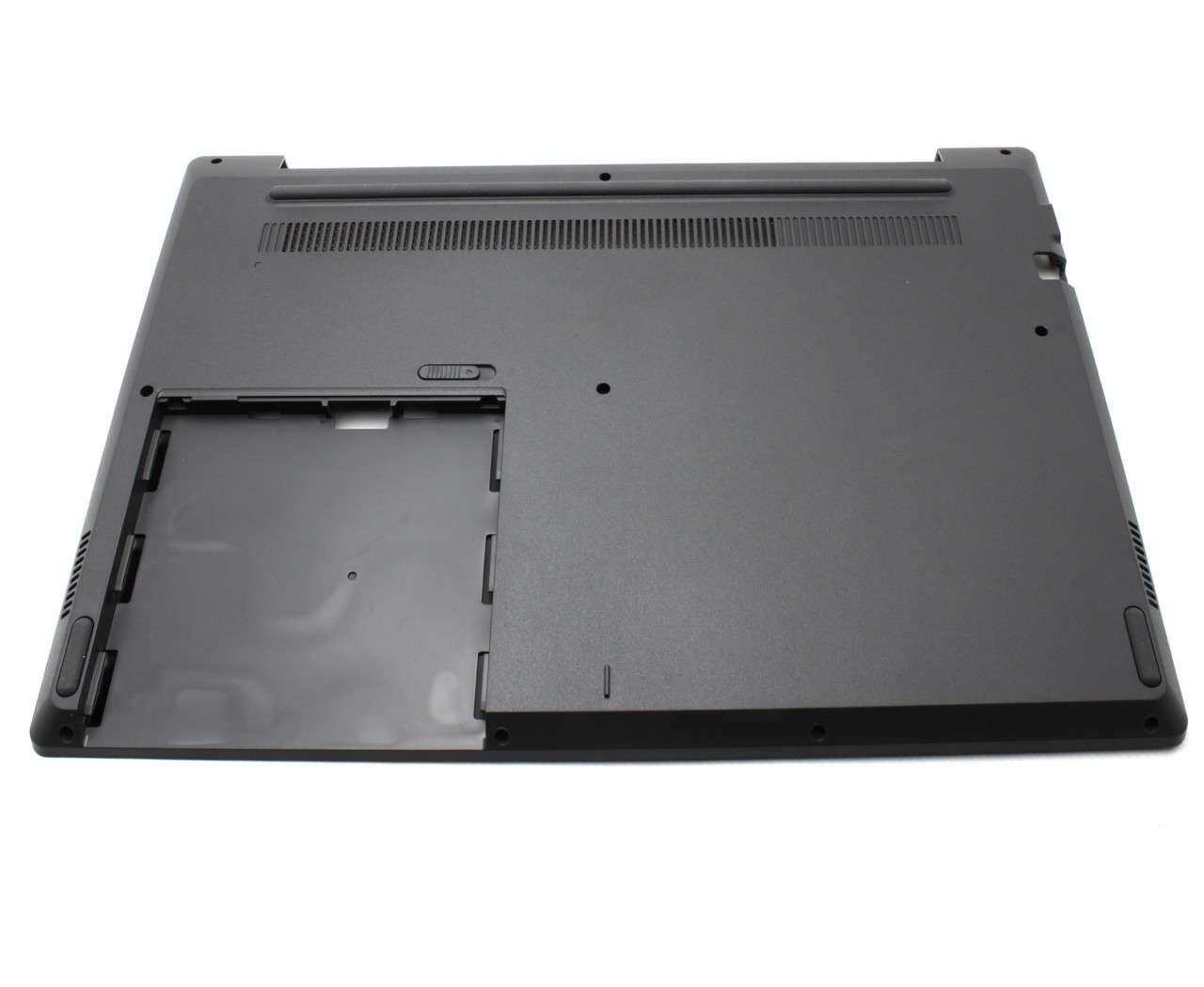 Bottom Case Lenovo 5CB0Q97999 Carcasa Inferioara Neagra cu Orificu Type C imagine powerlaptop.ro 2021