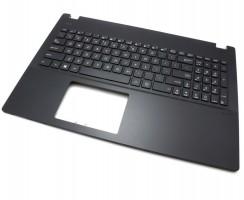 Tastatura Asus Pro P2520SA Neagra cu Palmrest Negru. Keyboard Asus Pro P2520SA Neagra cu Palmrest Negru. Tastaturi laptop Asus Pro P2520SA Neagra cu Palmrest Negru. Tastatura notebook Asus Pro P2520SA Neagra cu Palmrest Negru