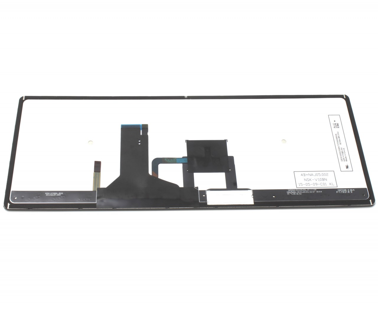 Tastatura Toshiba Portege Z30 A 10P Rama gri iluminata backlit imagine powerlaptop.ro 2021