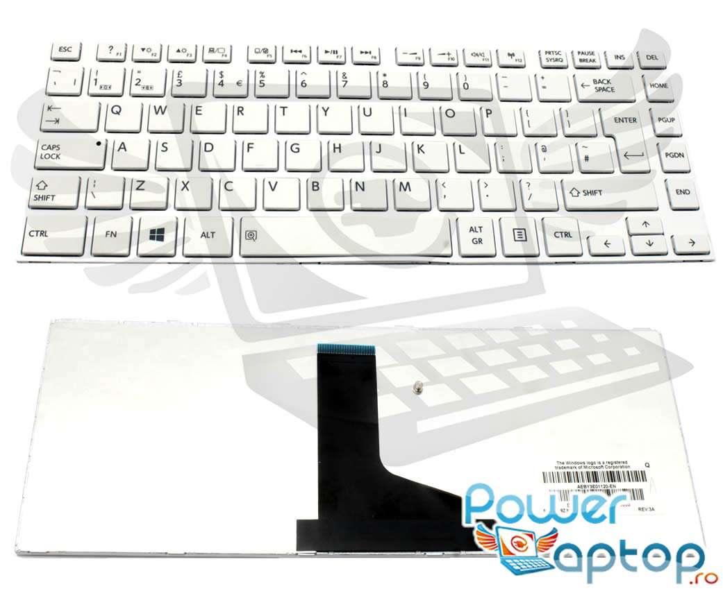 Tastatura Toshiba AEBY3U02110 US Alba imagine