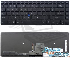 Tastatura Toshiba  NSK-V20BN iluminata backlit. Keyboard Toshiba  NSK-V20BN iluminata backlit. Tastaturi laptop Toshiba  NSK-V20BN iluminata backlit. Tastatura notebook Toshiba  NSK-V20BN iluminata backlit