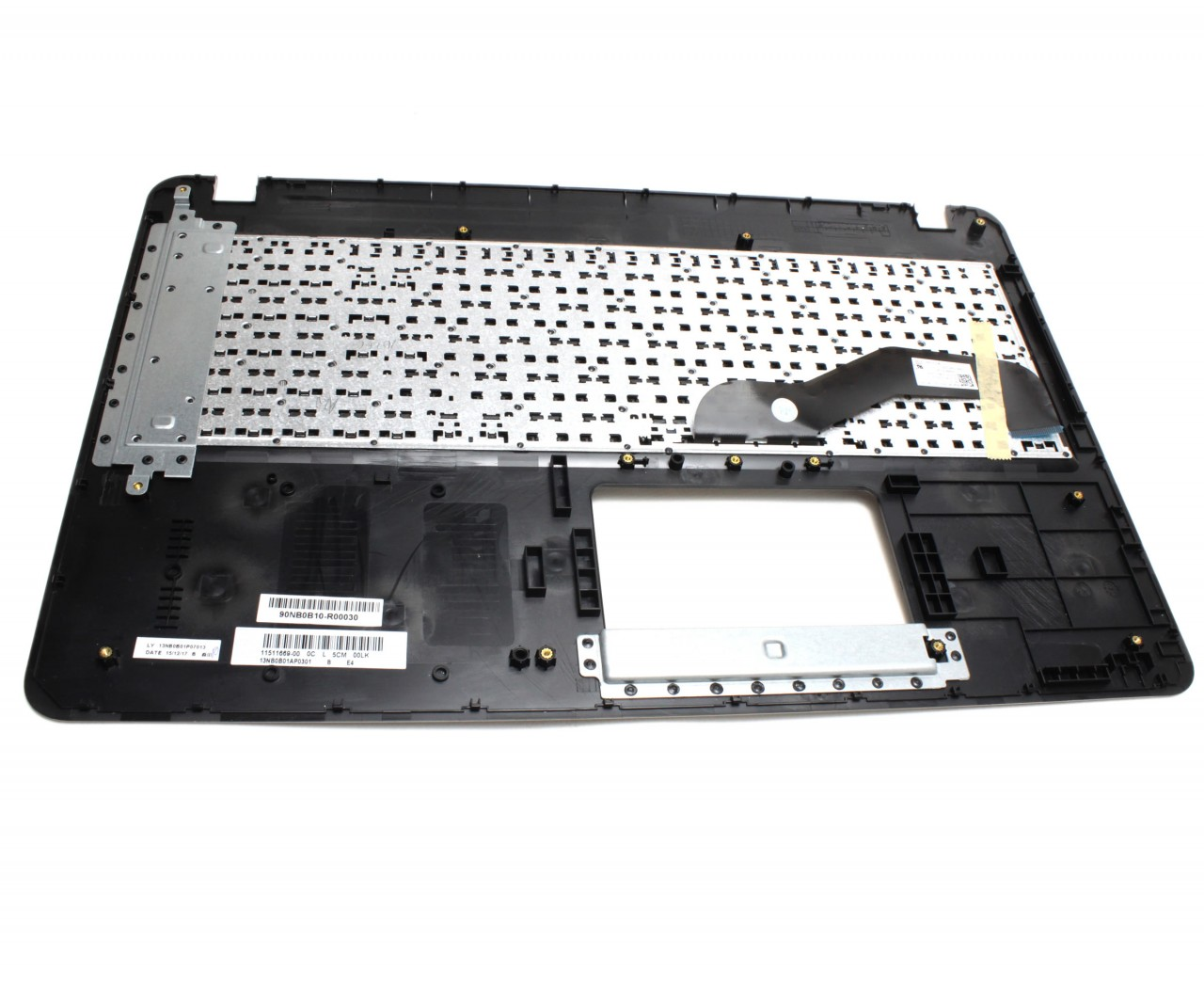 Tastatura Asus A540S neagra cu Palmrest auriu imagine powerlaptop.ro 2021