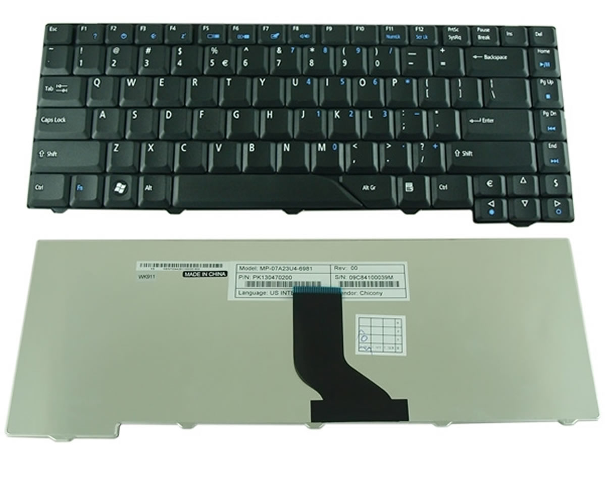 Tastatura Acer AEZD1R00010 neagra imagine powerlaptop.ro 2021