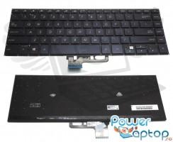 Tastatura Asus  0KNB0-4624US00 iluminata. Keyboard Asus  0KNB0-4624US00. Tastaturi laptop Asus  0KNB0-4624US00. Tastatura notebook Asus  0KNB0-4624US00