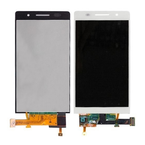 Display Huawei Ascend P6 Alb imagine