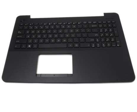 Tastatura Asus  0KNB0-612RUS00 cu Palmrest negru. Keyboard Asus  0KNB0-612RUS00 cu Palmrest negru. Tastaturi laptop Asus  0KNB0-612RUS00 cu Palmrest negru. Tastatura notebook Asus  0KNB0-612RUS00 cu Palmrest negru