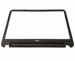 Bezel Front Cover Dell Inspiron 5521. Rama Display Dell Inspiron 5521 Neagra