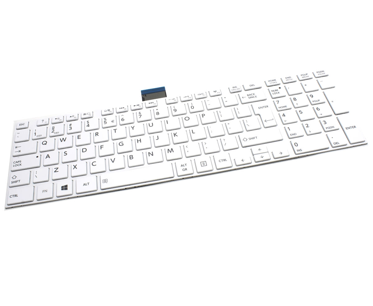 Tastatura Toshiba Satellite S50D Alba imagine powerlaptop.ro 2021