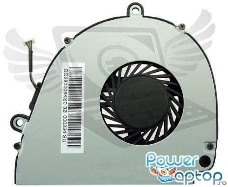 Cooler laptop Acer Aspire 5750g. Ventilator procesor Acer Aspire 5750g. Sistem racire laptop Acer Aspire 5750g