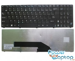 Tastatura Asus  K50IJ. Keyboard Asus  K50IJ. Tastaturi laptop Asus  K50IJ. Tastatura notebook Asus  K50IJ