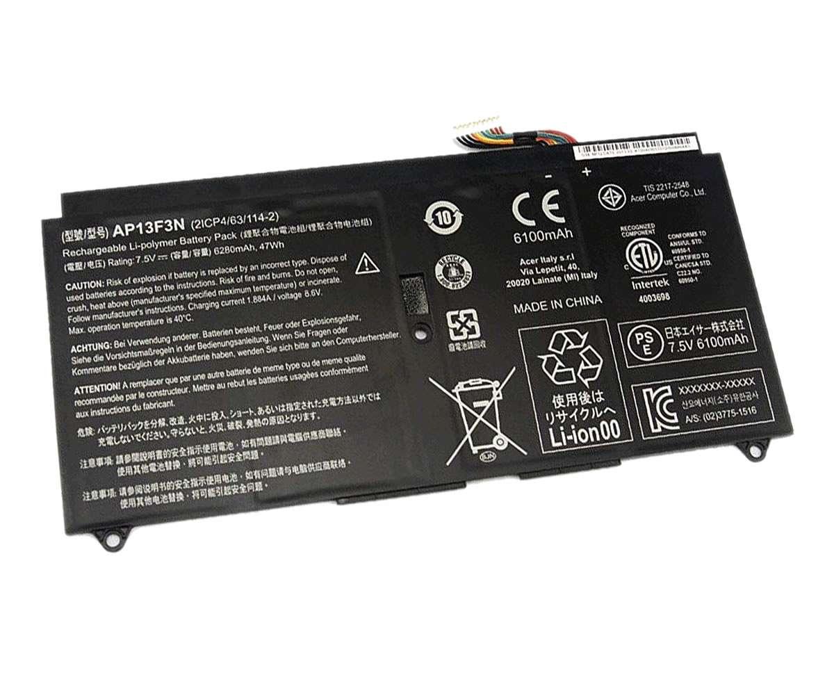 Baterie Acer AP13F3N Originala 6100mAh imagine
