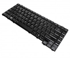 Tastatura Toshiba Qosmio F45 negru lucios. Keyboard Toshiba Qosmio F45 negru lucios. Tastaturi laptop Toshiba Qosmio F45 negru lucios. Tastatura notebook Toshiba Qosmio F45 negru lucios