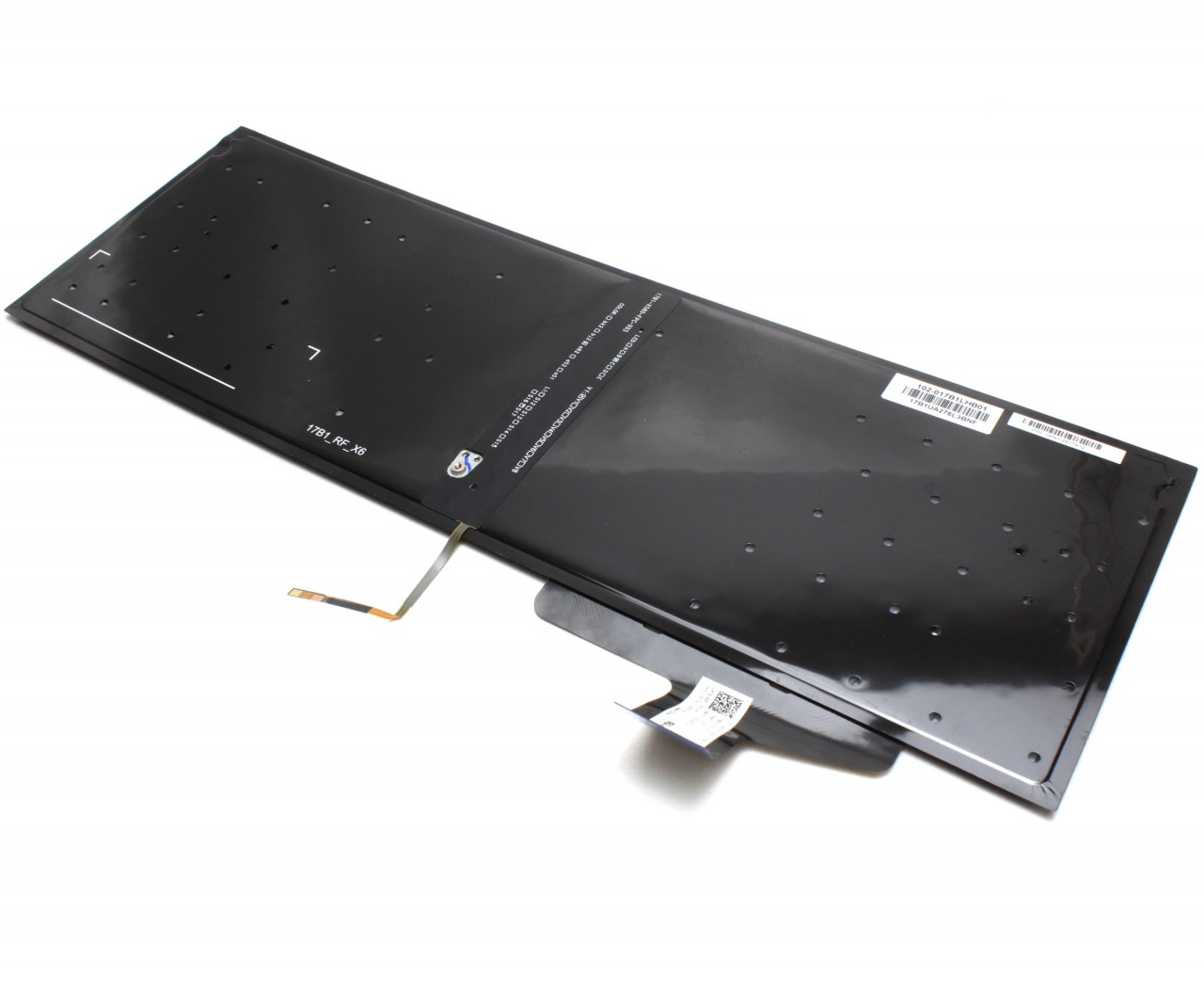 Tastatura Asus X580UF iluminata layout US fara rama enter mic imagine