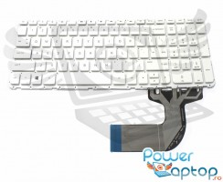 Tastatura HP  250 G3 alba. Keyboard HP  250 G3. Tastaturi laptop HP  250 G3. Tastatura notebook HP  250 G3