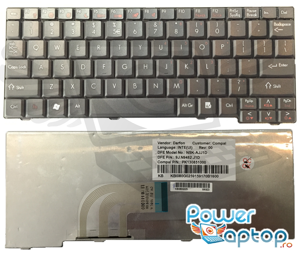 Tastatura Gateway LT2001U imagine